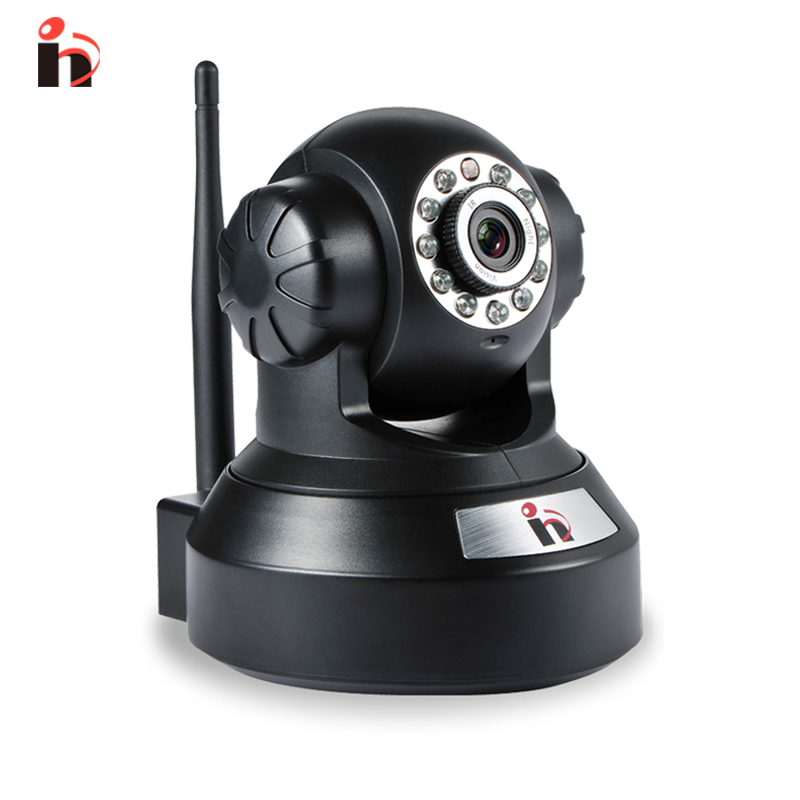 H Free Shipping 1.0MP HD 720P PTZ IP Camera Wifi P2P Wireless Security Camera IP Night Vision IR Cut Two Way Audio Webcam
