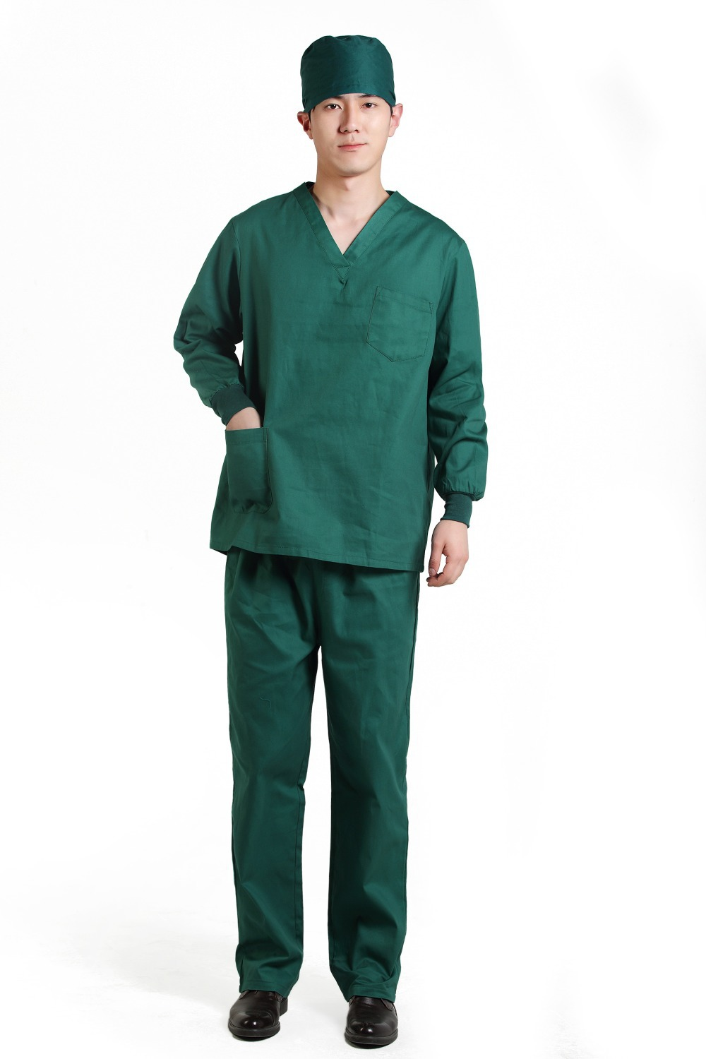 2015 OEM surgical clothing surgical gowns hospital uniform scrub ...