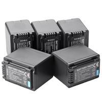 5pcs 3900mAh VW VBT380 VBT380 Battery for Panasonic HDC HS60, HS80, SD40, SD60, SD80, SD90, SDX1H, TM40, TM41,SDR H85, SDR T76