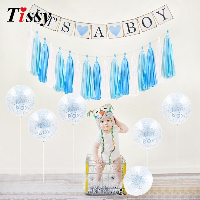 Its A Boy Girl Photo Booth Baby Shower Birthday Decor Cake Topper