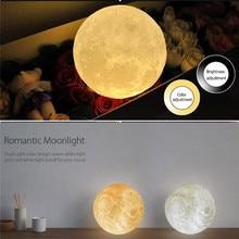 3D Printing Moon Lamp Lunar USB Night Light