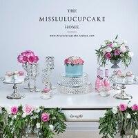 European fruit plate cake shelf tray wedding dessert table decoration set