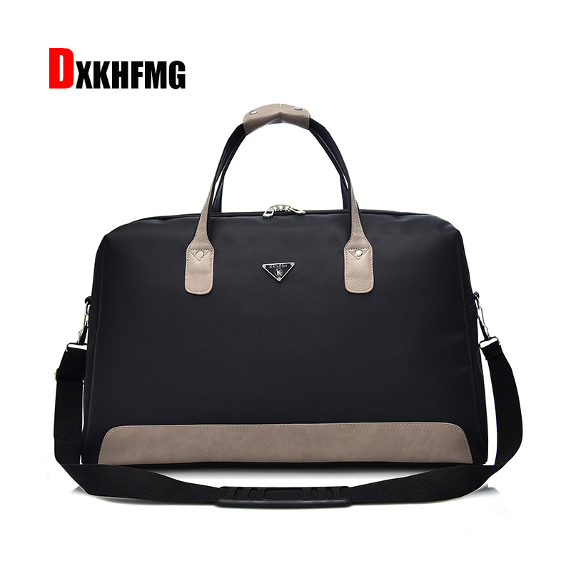 Luggage Organizer Waterproof Oxford Women Travel Bag Patchwork Men Travel Duffle Bags Large Capacity Tote Luggage Shoulder Bag
