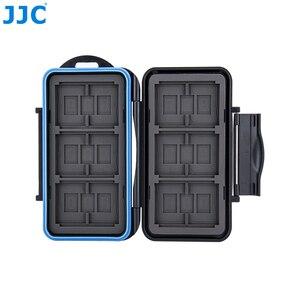 JJC чехол для карт памяти SD/MSD/CF Водонепроницаемая коробка для камеры Canon/Nikon/Sony/Fujifilm/Olympus/Leica