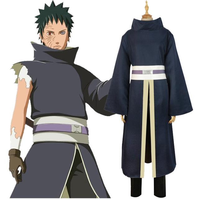 Naruto Shippuden Uchiha Obito Traje para Cosplay
