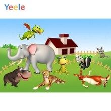 Yeele Vinyl Safari Animals Zoo Children Birthday Party Photography Background Baby Child Photographic Backdrop Photo Studio