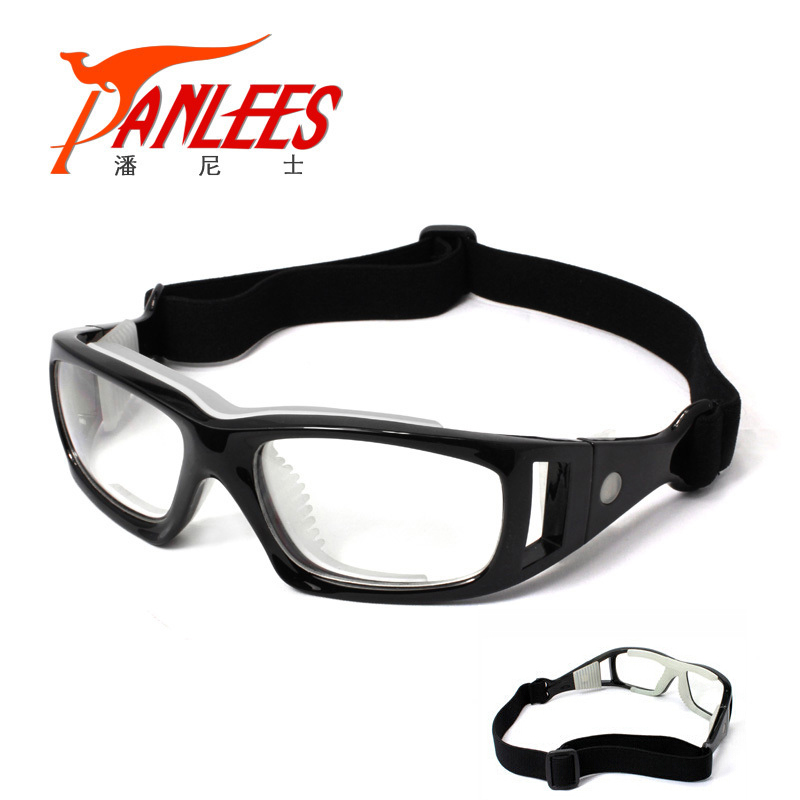 Цена за Бренд гарантии! Регулируемая PC очки спортивные очки рецепт выпученными баскетбол гандбол близорукость очки