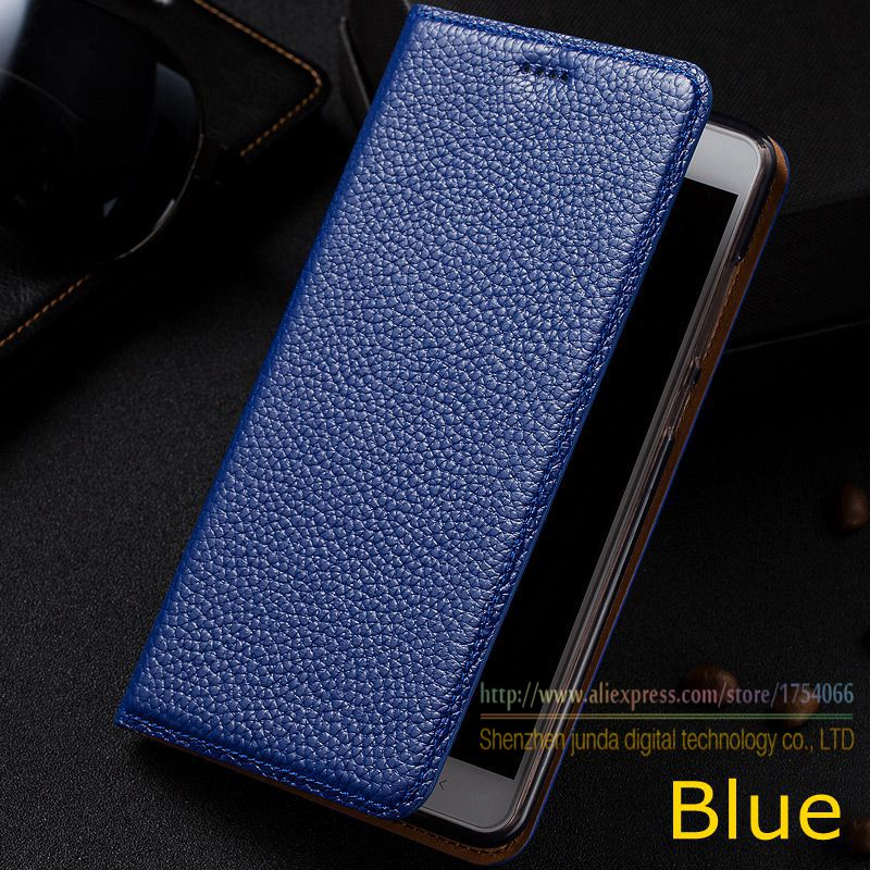Litchi Genuine Leather Magnet Stand Flip Cover For Letv LeEco Le2 Le 2 Pro X527 X620 X526 Luxury Mobile Phone Case & Card Holder