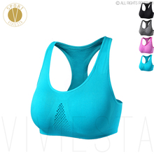 Breathable Sports Bra – Yoga Running Jogging Support Wireless Comfort Home Daily Night Sleep Bra Top Sportswear Activewear XL