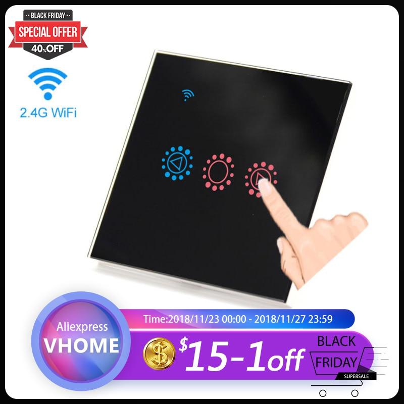 Ewelink App Touch Light Switch Eu  Uk Wifi Dimmable Wall