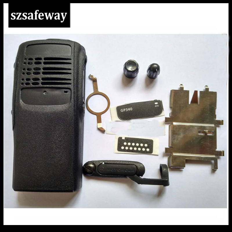 Two Way Radio Case Cover  Housing For Motorola GP340 Two Way Radio Accessories Free Shipping