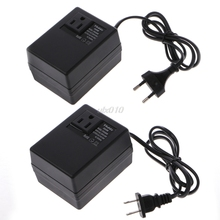 300W 220/240V To 110/120V AC Step Down Travel Voltage Transformer Converter EU/US Plug July Wholesale&DropShip