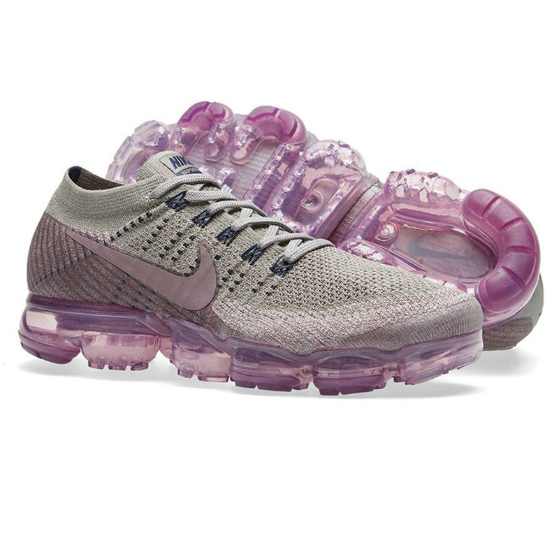 8d99272b72 ... 50% off nike air vapormax flyknit womens running shoes outdoor sneakers shoes  purple gray non
