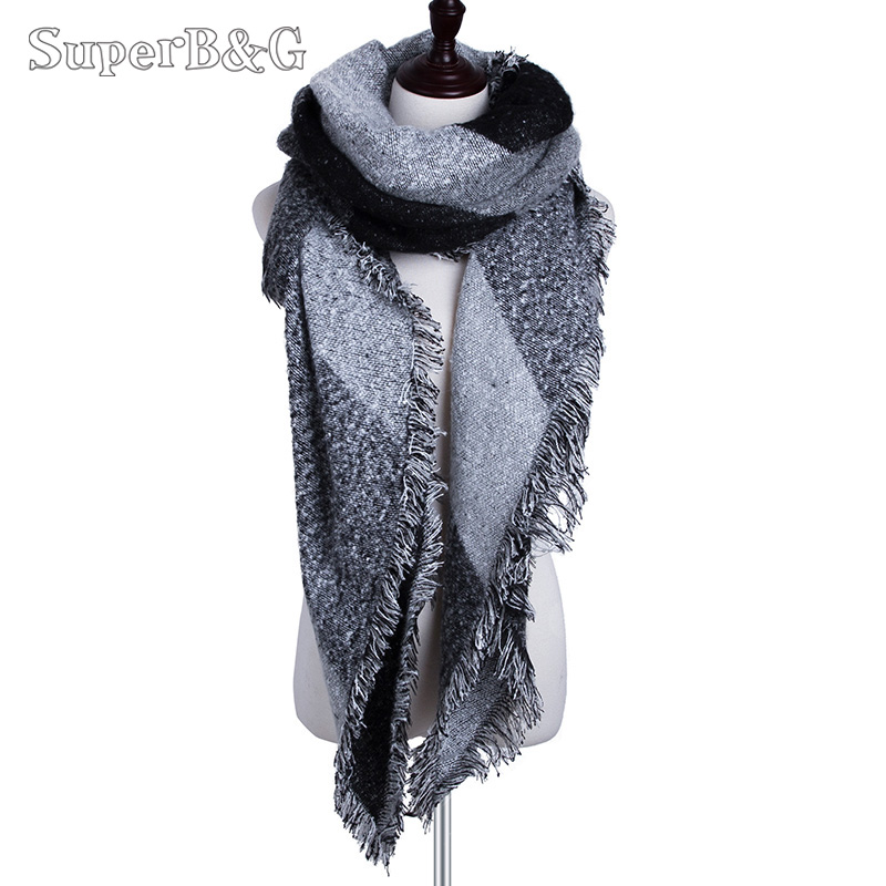 Fashion Lady Shawls,Comfortable Warm Winter Scarfs Soft Cashmere Scarf For Women Love Inspirational Motivating On Old Positive Abstract Achievement Aged