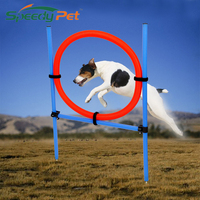 Speedy pet Dog Toys Training Supplies Dog Jumping Teaching Products for Animals Blue Red Round Toys Pet Training Free Shipping
