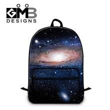 Dispalang galaxy star universe mochilas para mujeres hombres grandes mochilas escolares para adolescentes niños schoolbag niños del bolso de hombro ocasional