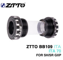 ZTTO CERAMIC Bearing BB109 ITA70 ITA 70 MTB Road Bike External Bearing Bottom Brackets For Parts 24mm BB 22mm GXP Crankset ztto bicycle bottom bracket bb109 bb68 bsa68 bsa73 mtb road bike parts for parts 24mm k7 22mm gxp crankset