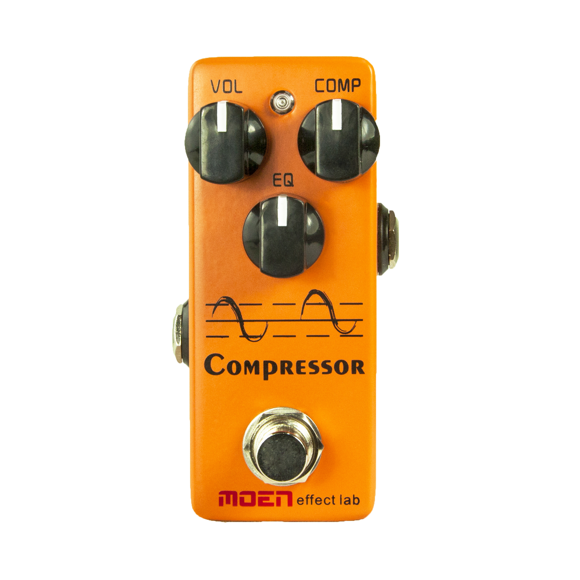 Moen Compressor Guitar Effect Pedal Vol Comp EQ Controls Ture Bypass Stompbox for Electric Guitar italy baroni lab dave s comp compressor guitar effect pedal stompbox true bypass