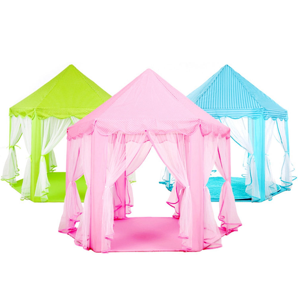 Portable Children Kids Play Tents Outdoor Garden Folding Toy Tent Pop Up Kids Girl Princess Castle Outdoor Playhouse Kids Tent new arrival portable kids play tents folding indoor outdoor garden toys tent castle pop up house for children chiristmas gift