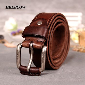 Cowskin Leather strap vintage belt