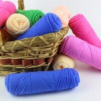 New Baby Yarn Milk Cotton Yarn Super Soft Natural Smooth Needle Crafts