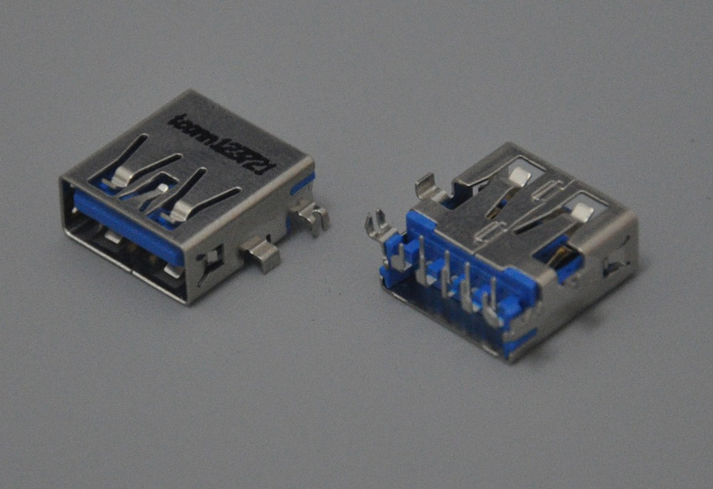 1pcs USB 3.0 socket fit for <font><b>HP</b></font> <font><b>ProBook</b></font> <font><b>650</b></font> <font><b>G1</b></font> series laptop <font><b>motherboard</b></font> usb jack image