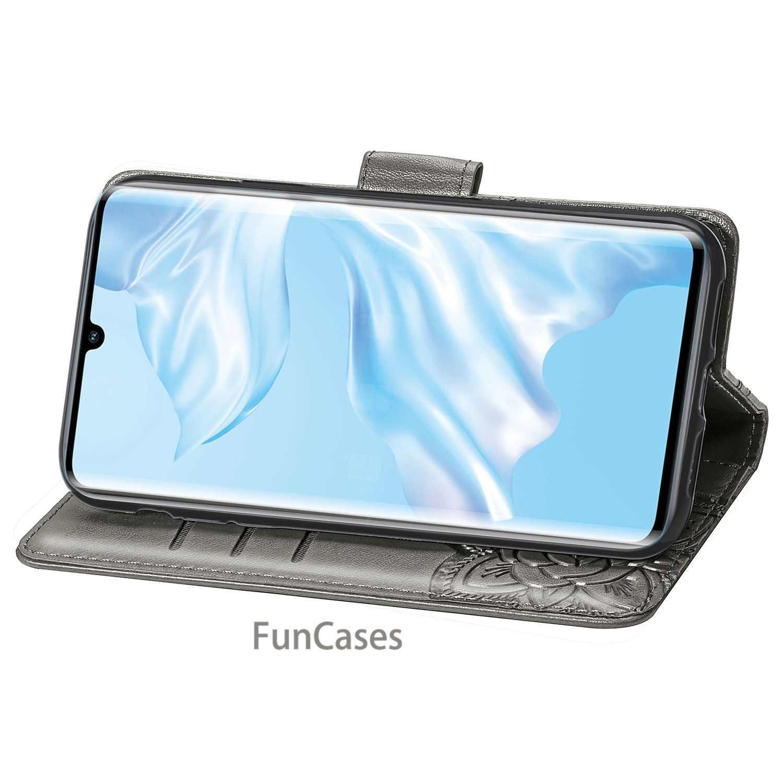 Huawei P30 Pro cuero caso en la sFor Coque Huawei P30 Pro para Huawei P 30 Pro cartera Flip CASO DE LA teléfono casos