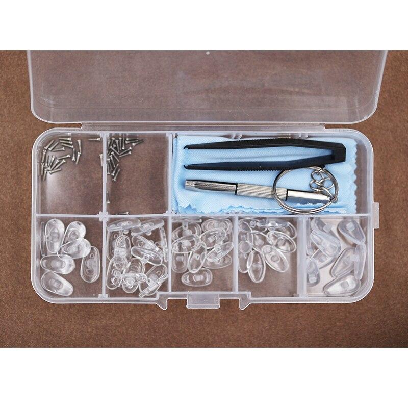 Colour _ max coussinets nasaux en Silicone souple pour lunettes et lunettes, tampons pour lunettes et vis, Kit de réparation | AliExpress