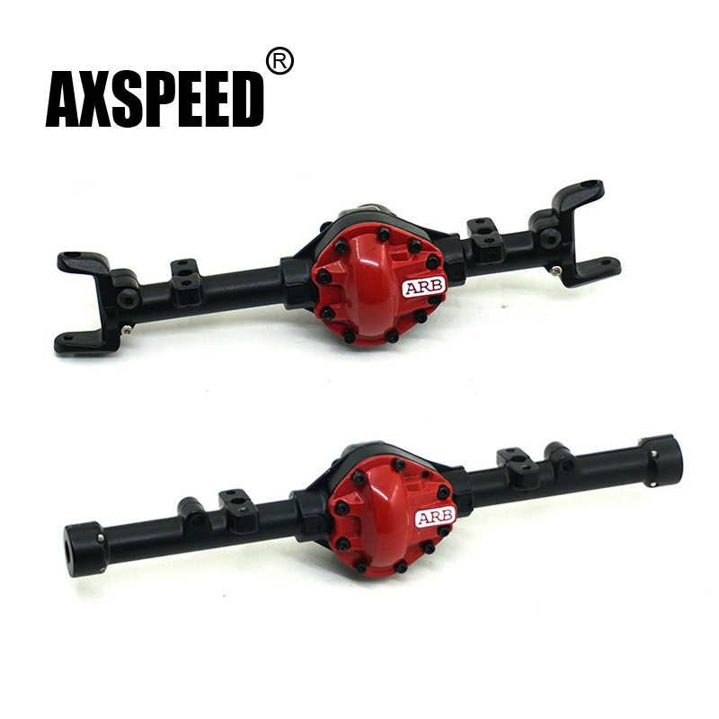 1PCS/Set 1:10 Crawler Car Alloy Front And Rear Axle Shell For RC Car Axial AXIAL SCX10 RC4WD D90 Truck Rock Crawler Parts mxfans 23 pieces alloy upgrade set spare parts for rc 1 10 axial rock crawler