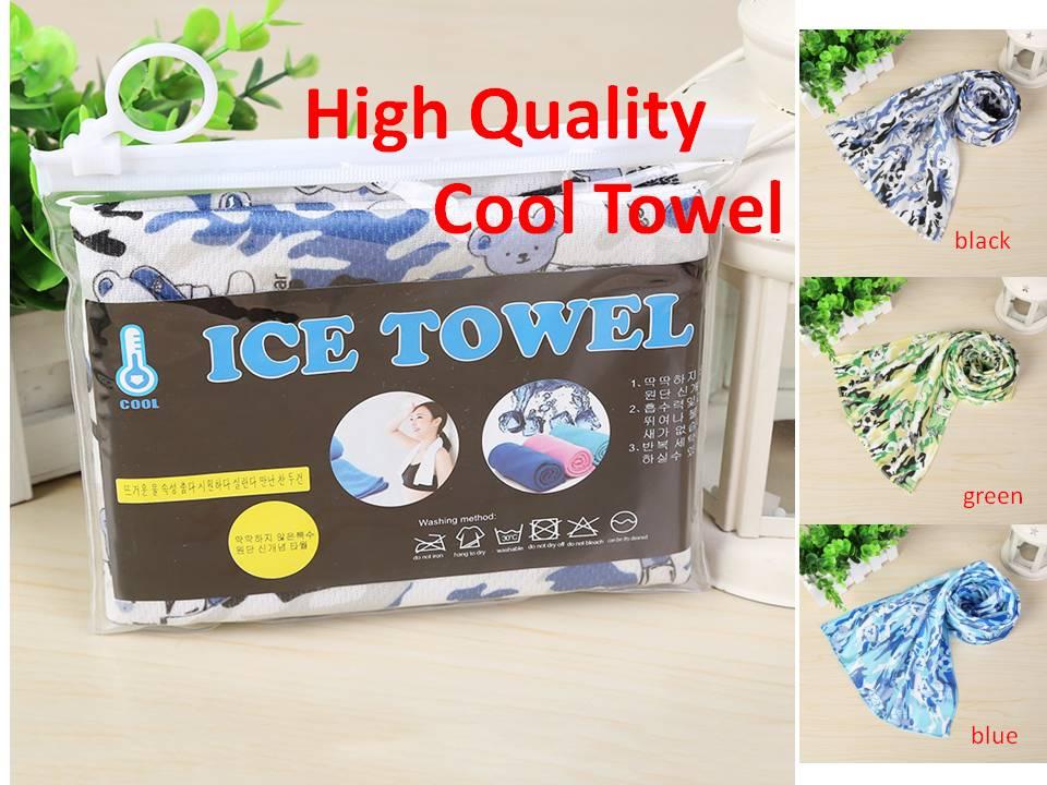 90*30cm Cool Towel, Instant Cooling Towel, Long Lasting Heat Relief Ice Towel, Quick Dry Sweat Absorbing, Men Women Gym Towel