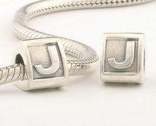pandora charms originales letra j