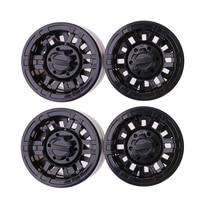 4PCS Scale 1 10 RC Crawler Alloy Upgrade Wheel Rim 1 9 Inch Beadlock Wheels For