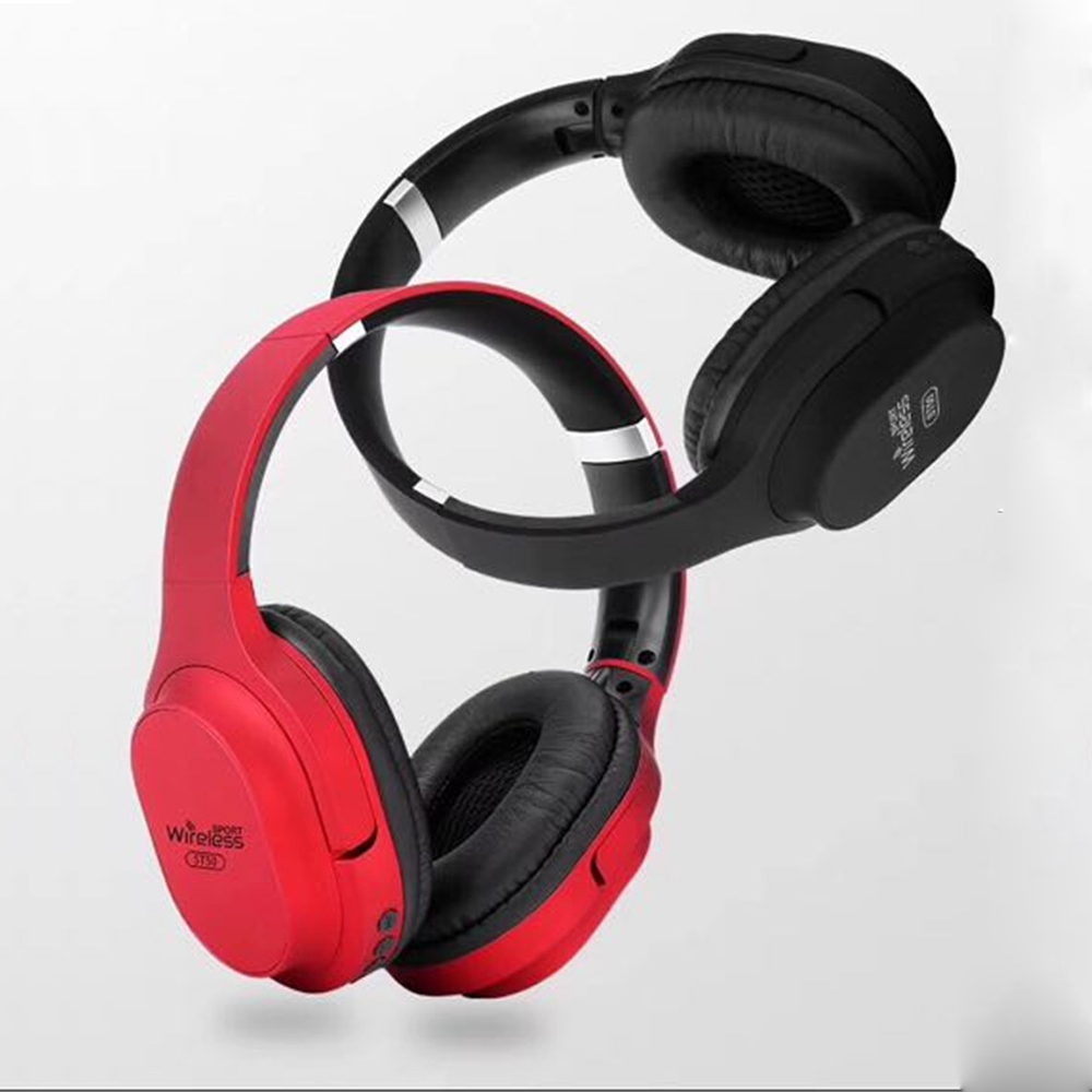 In stock ST50 Bluetooth headphone with microphones extra bass Wireless Headset for iPhone Android answer phone call