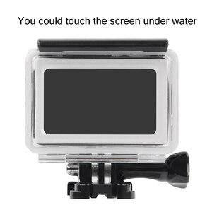 Image 5 - Mergulho subaquático 35m tocável à prova dwaterproof água caixa protetora para xiaomi yi 2 4k câmera de ação