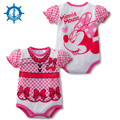 Baby Rompers Summer 100% Cotton Short Sleeve Cartoons 7Styles Baby Girl Clothes Toddler Boy Jumpsuits Bebe Roupas HB043