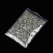 10 torebek/dziennika SS20 AB kolor DMC Hot Fix dżetów kryształ hot fix kamienne kryształy termoprzylepne do naprasowania szycie ubrań kamienie