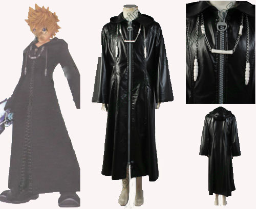 Kingdom Hearts 2 Organization XIII Cosplay Costume Coat Custom Made For Halloween Carnival