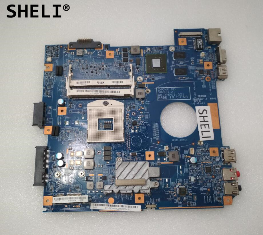 цена на SHELI For Sony VPC-EG MBX-250 Motherboard with N12M-GS2-S-A1 48.4MP01.021 A1829655A