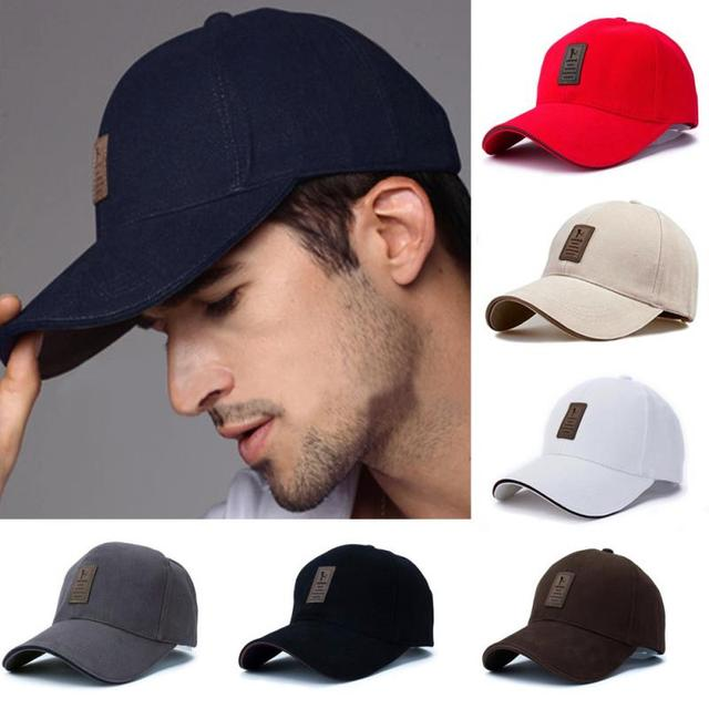 cfda02eacfe Outdoor Cotton Golf Player Hat Men Sports Sun Hat Colorful Golf Cap ...