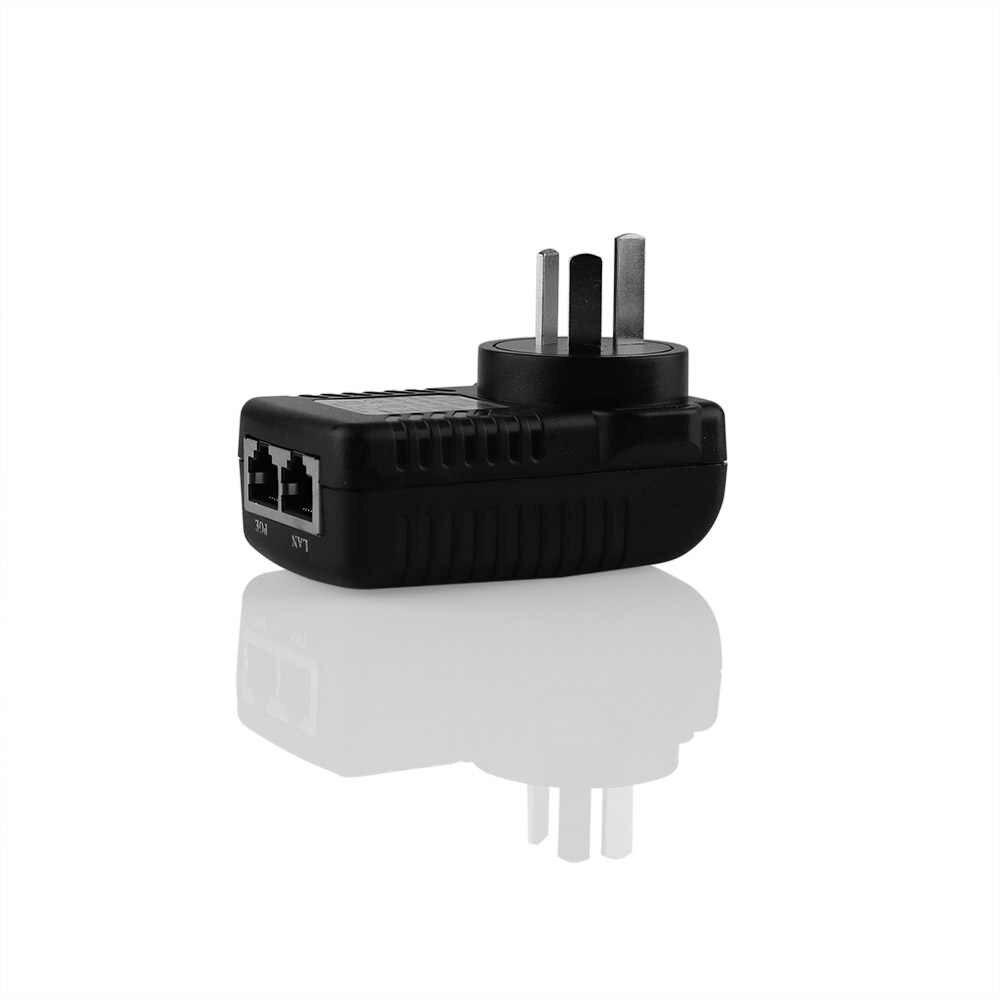 Doerguin 壁プラグインジェクタ 48 ボルト電源パワーオーバーイーサネットの hikvision 大化 IEEE802.3af PoE IP カメラ IP 電話
