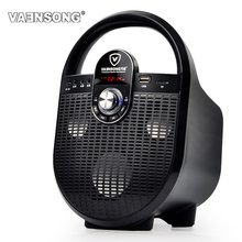 2.1 Stereo Subwoofer Bluetooth Speaker FM Radio Portable Speakers Mp3 Play 10W Super Bass  Loudspeaker computer Column Mic Inout