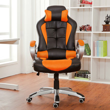 quality chair office boss chair with pillow protection cervical computer game competitive chair comfortable furniture chair furniture office rotate game chair
