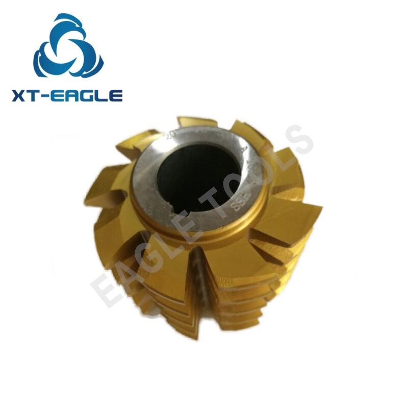 HSS M3 75 Module Gear Hob Cutter PA20 degree 80 70 27 hole Coated