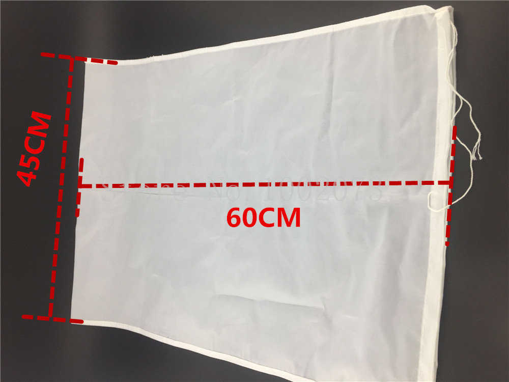 Home Brew Food Grade Grain Hops Boiling Filter Bag 45 X 60cm batch Homebrew Beer Wine Coffee Bucket Filter in Other Bar Accessories from Home Garden