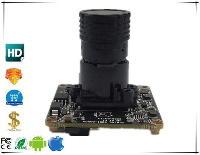 F1 0 Lens Sony IMX307 3516E 1080P H 265 1920 1080 IP Camera Module Board StarLight