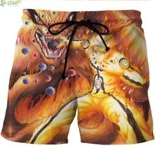Naruto's Akatsuki Cloud Short Pants / Beach Shorts / Bermuda Shorts / Underwear