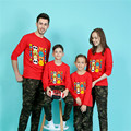 2017 pokemon panda t shirt women kids tops family look matching mother daughter clothes father son outfits mommy and me clothes