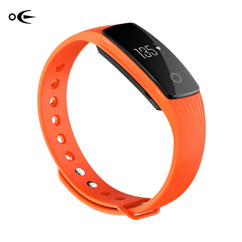 2018 New Bluetooth Smart Bracelet Heart Rate Monitor Wristband Android IOS Activity Fitness Tracker Pedometer  Reminder bluetooth smart wrist watch blood pressure watches bracelet heart rate monitor smart fitness tracker wristband for android ios
