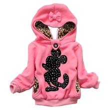 2017 NewRetail! bébé fille hoodies, vestes Filles, le manteau d'hiver pour enfants, Enfants de clothing, enfants manteau chaud en hiver