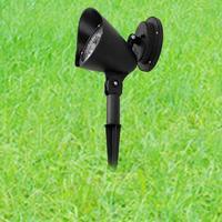 Ao ar livre 3 leds alimentado por energia solar ou bateria jardim terras gramado luz paisagem caminho lâmpada para estrada|Lâmpadas solares| |  -